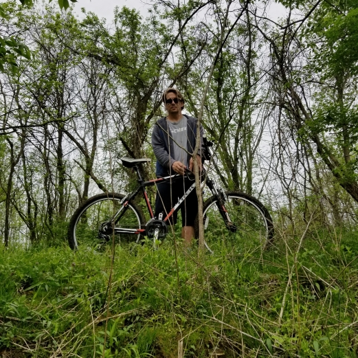 Mountain bike and Scott Caesar Creek